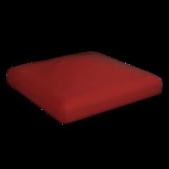 Puffy seat cushion